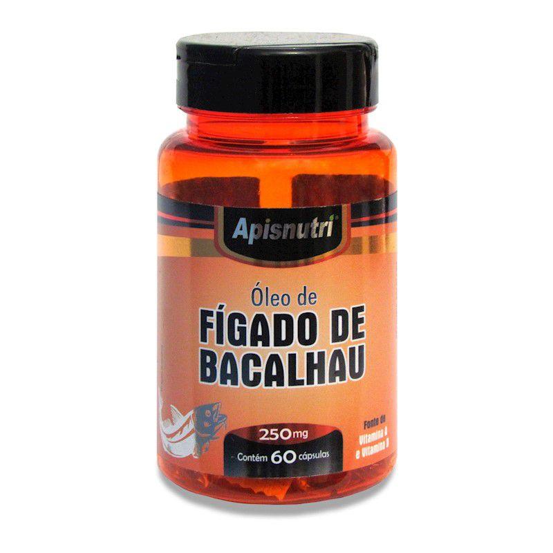 Óleo de Figado de Bacalhau 60 Caps Apisnutri