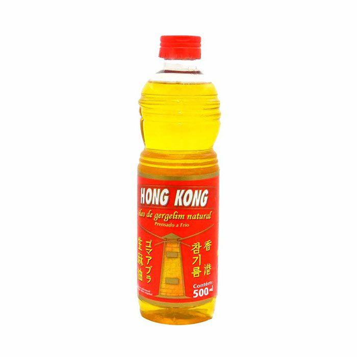Oleo de gergelim natural Hong Kong 500ml