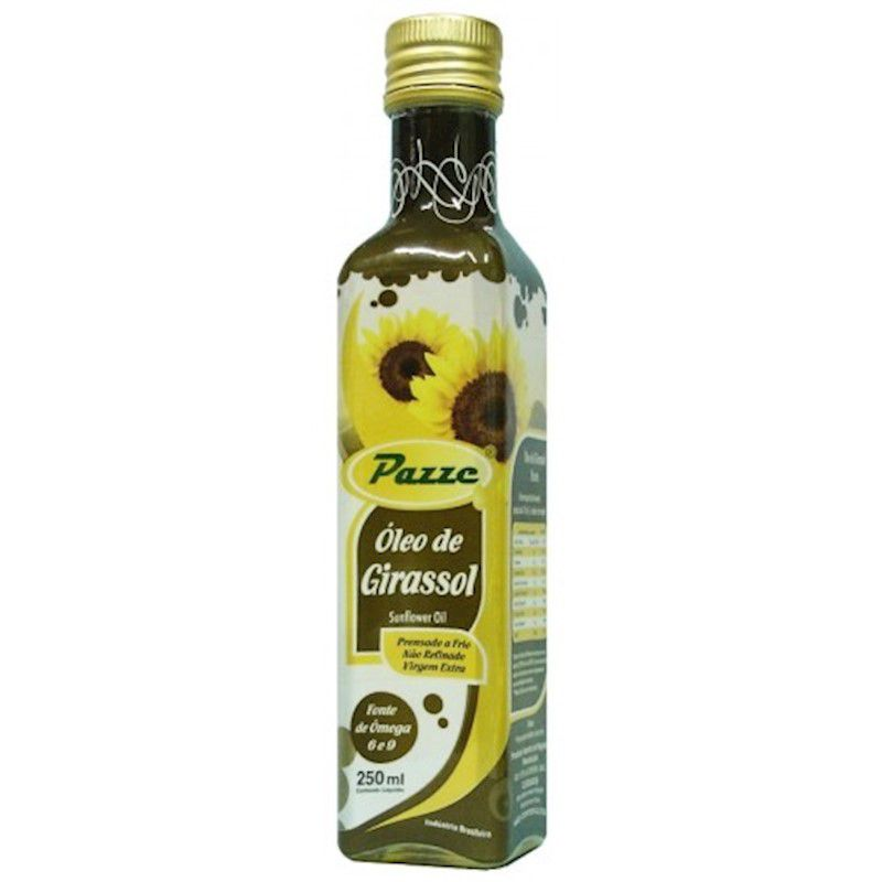 Oleo de Girassol 250ml Pazze