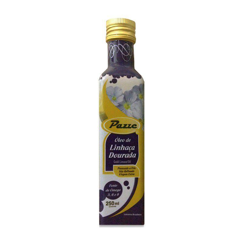 Oleo de Linhaça Dourada 250ml Pazze