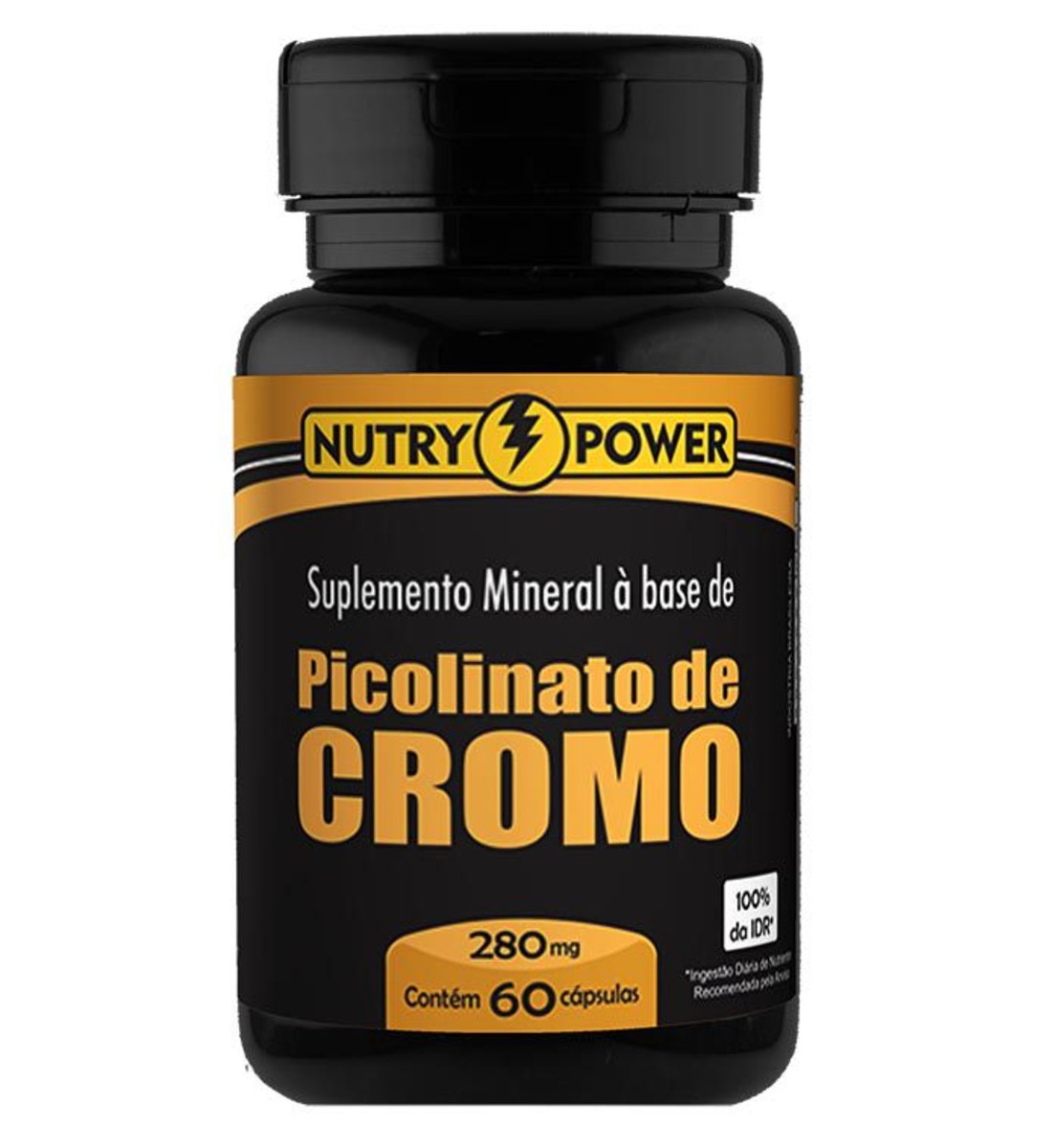 Picolinato de Cromo 60 Caps 280mg Nutry Power
