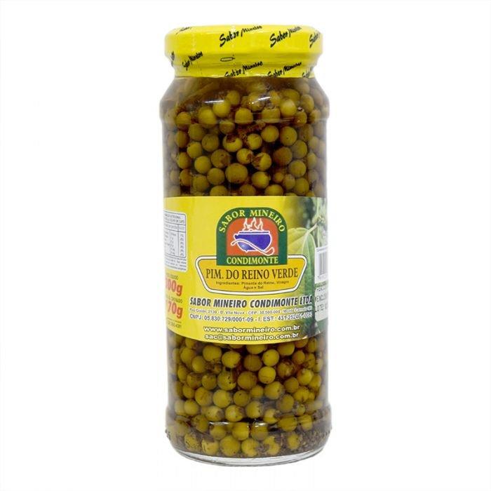 Pimenta do Reino Verde Sabor Mineiro 170g