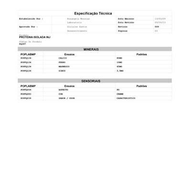 Proteína Isolada Soja 90% Crown Importada (Granel 100g)