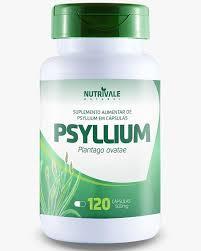 Psyllium 120 capsulas 500mg Nutrivale
