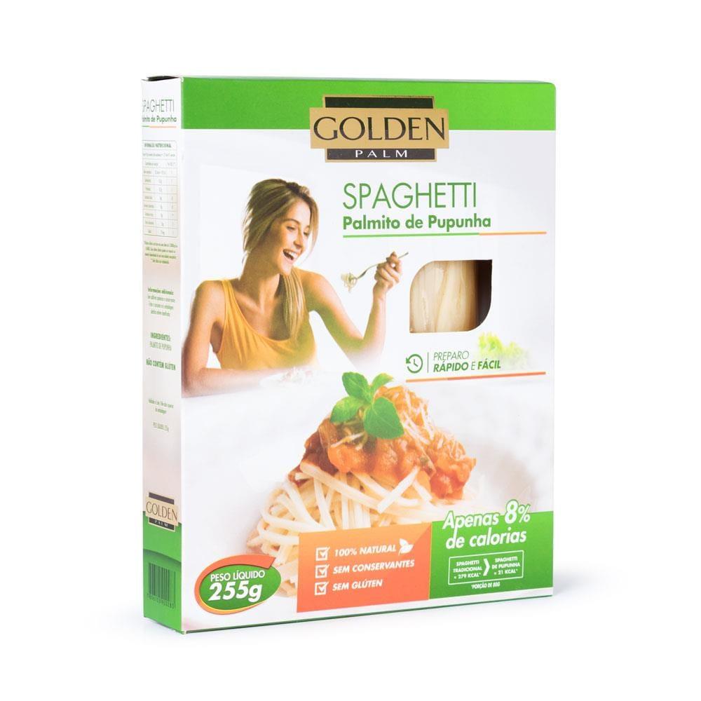Macarrão Spaghetti de Palmito de Pupunha 255g - Golden Palm