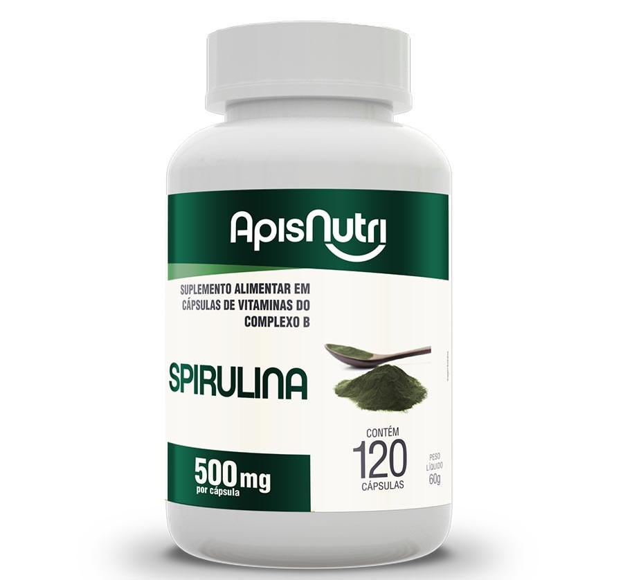 Spirulina 500 MG - 120 Caps