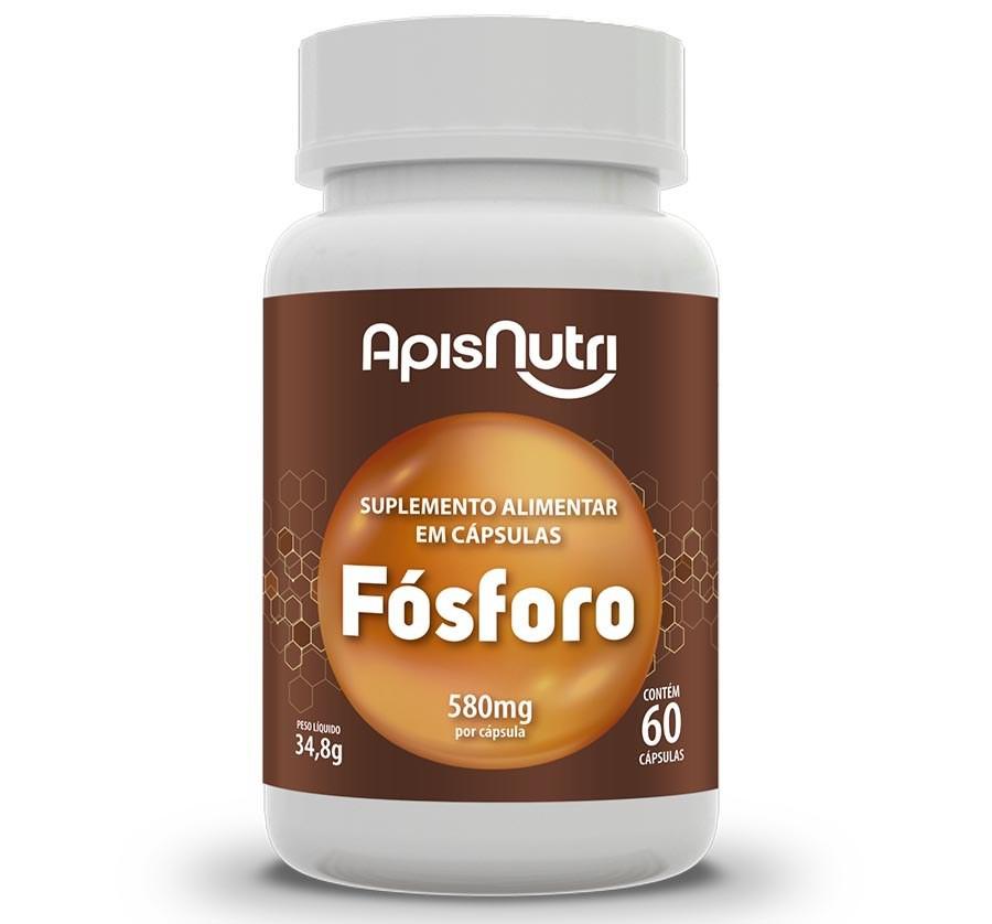 Suplemento Mineral De Fósforo 60 Caps 580 Mg
