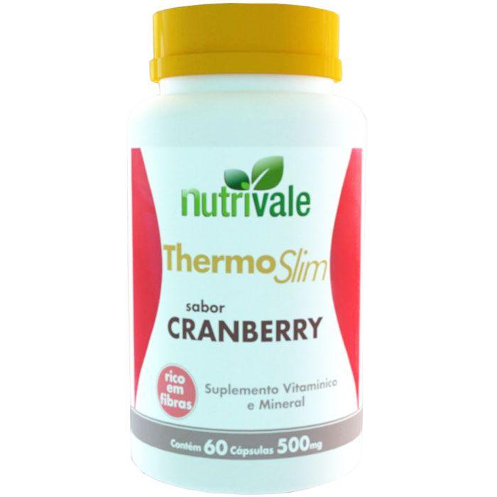 Thermo Slim Cranberry 60 Cápsulas 500mg