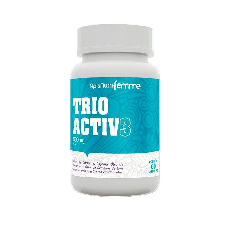 Trio Activ - 60 caps 500mg