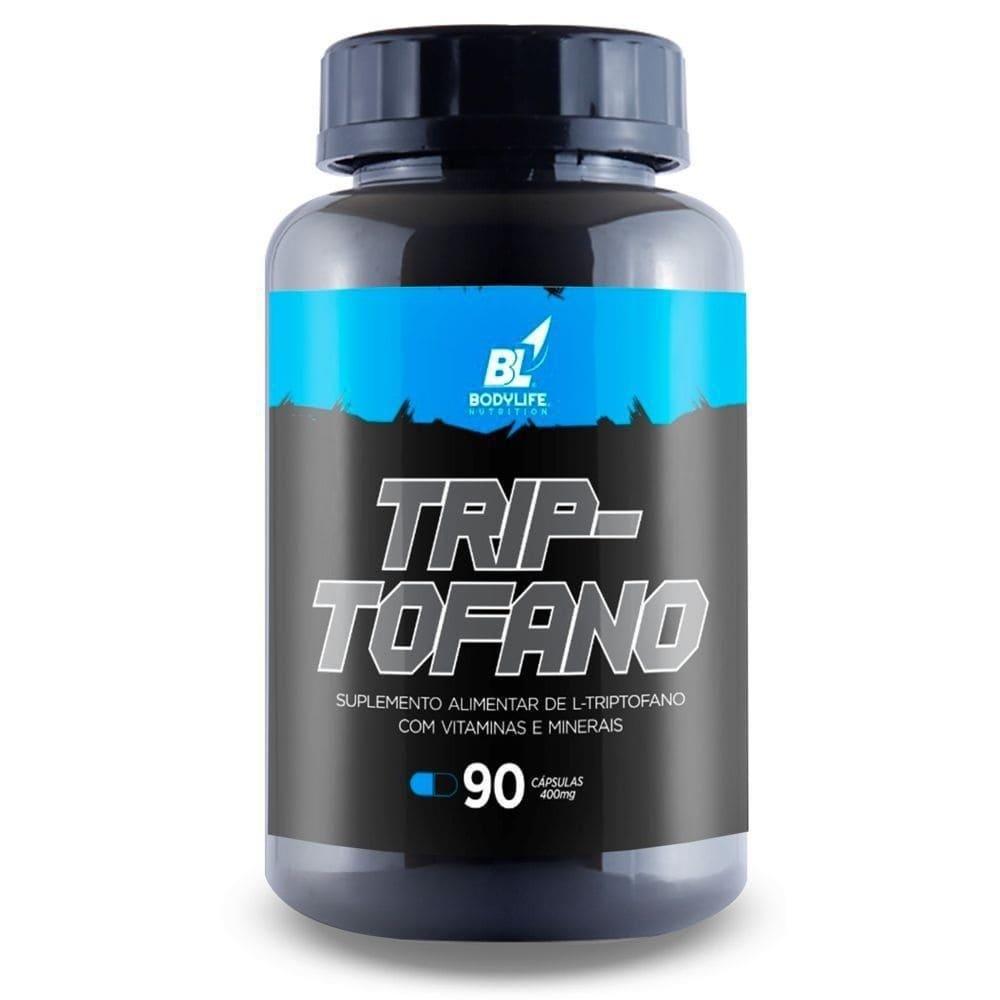 Triptofano 90 Capsulas 400mg Bodylife
