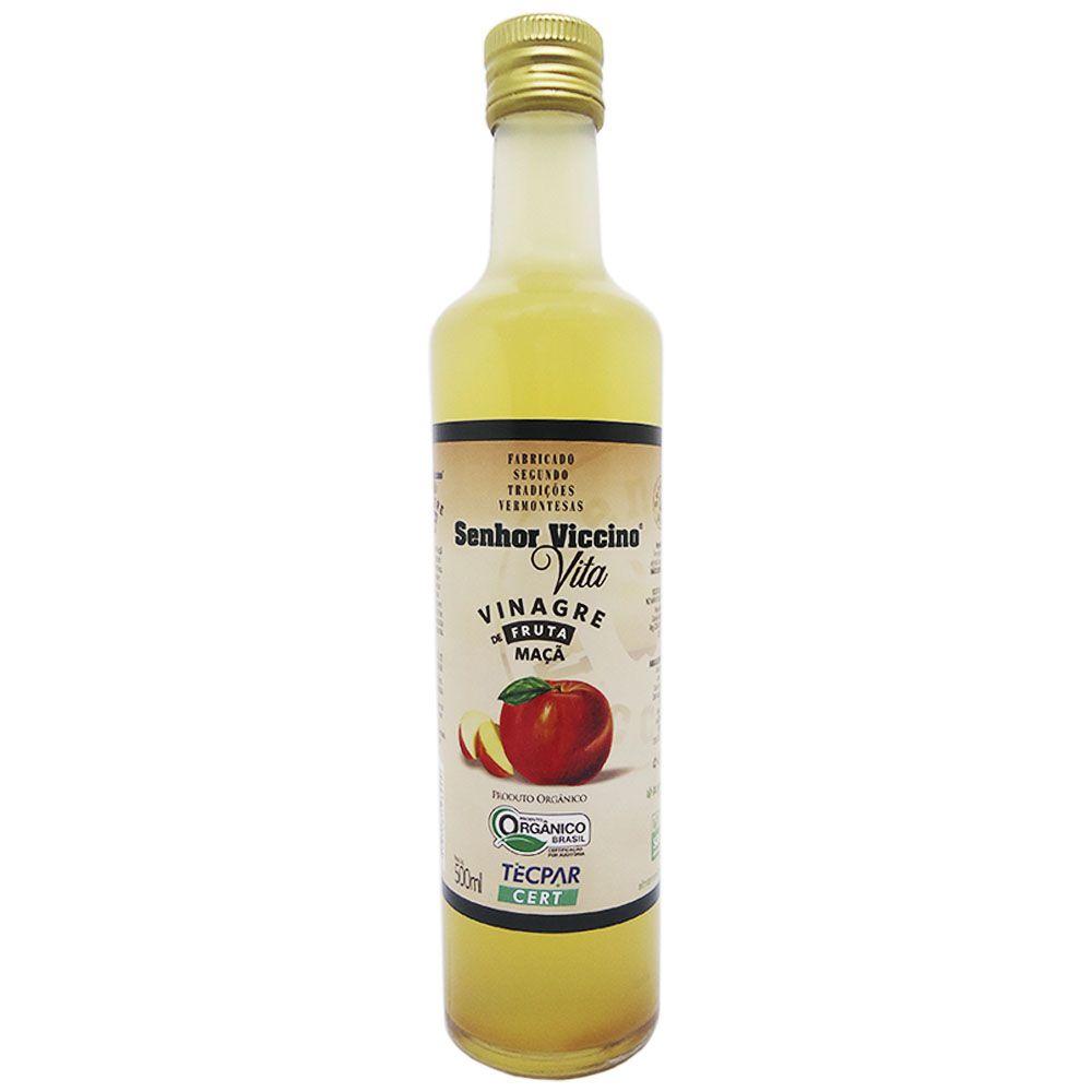 Vinagre de Maça Organico Almaromi 500ml