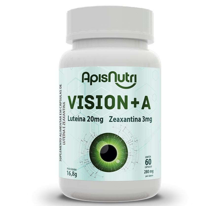 Vision + A 60 Caps 280mg - ApisNutri