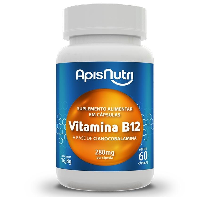 Vitamina B12  60 Caps 280mg