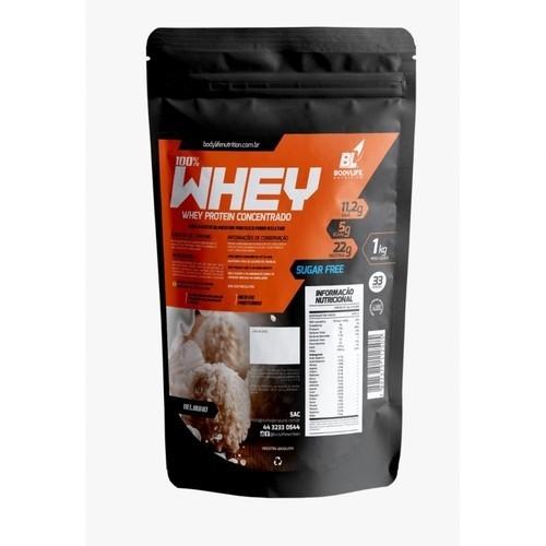 Whey Protein Concentrado BodyLife 1Kg sabor Chocolate