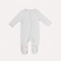 Macacão Pijama Liso Off White