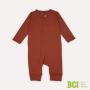 Macacão Pijama Brotinho Terracota