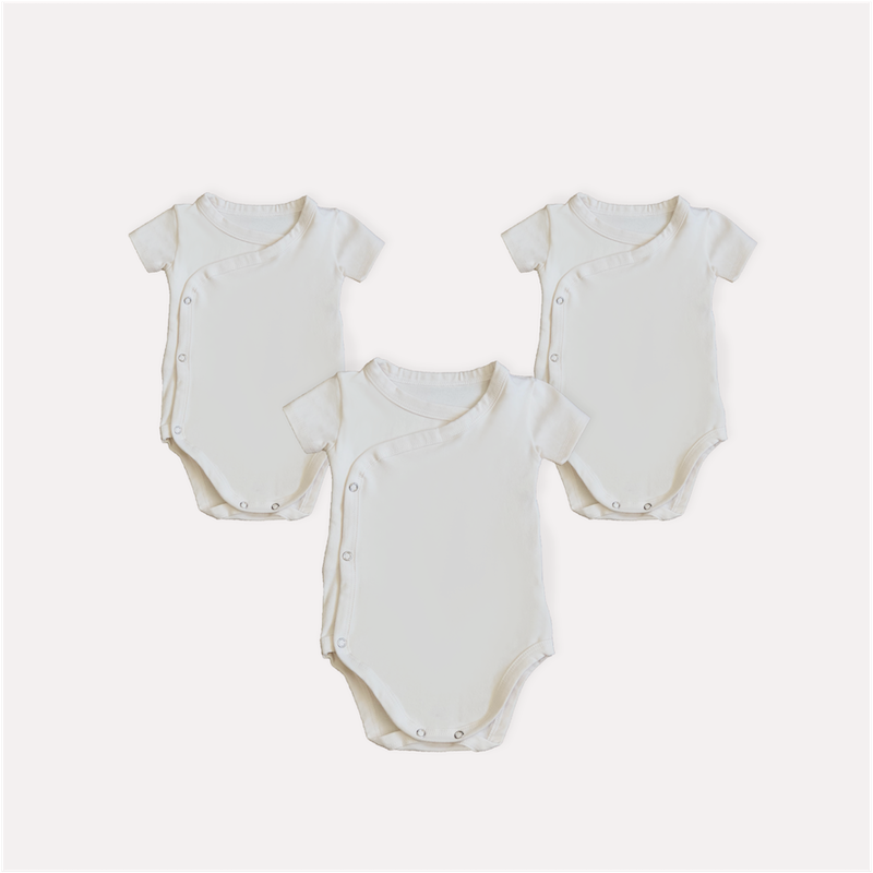 KIT - BODY KIMONO CURTO OFF WHITE