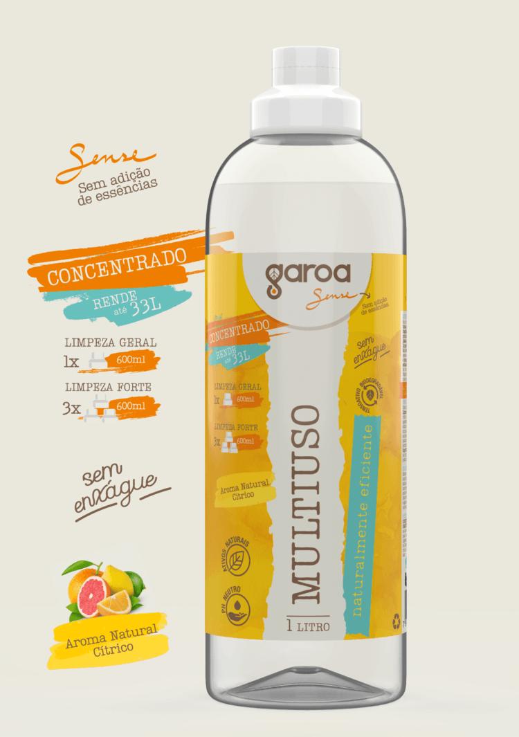 Multiuso Concentrado Garoa Sense 1 litro
