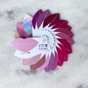 Cartela Batom + Make + Cabelo - Verão Frio