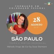 Curso de Formação em Análise Cromática Presencial - SÃO PAULO -  28 AGOSTO