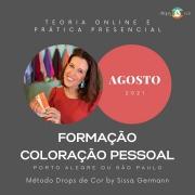 Curso de Formação em Coloração Pessoal - TEORIA ONLINE E PRÁTICA PRESENCIAL