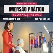 Imersão Prática em Coloração Pessoal - São Paulo ou Porto Alegre