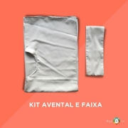 Kit Avental e Faixa