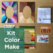 Kit Color Make Compacto para Maquiadores