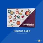 Makeup Card Inverno Escuro