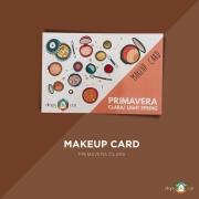 Makeup Card Primavera Clara