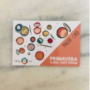 Makeup Card Primavera Clara