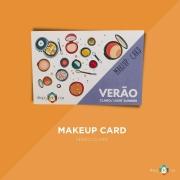 Makeup Card Verão Claro