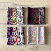 NOVO - Drapes de Contraste de Estampas com Temperatura