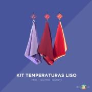 Kit tecido liso temperatura