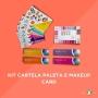 Kit Cartela Paleta e Makeup Card