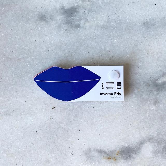 Cartela Batom + Make + Cabelo - Inverno Frio