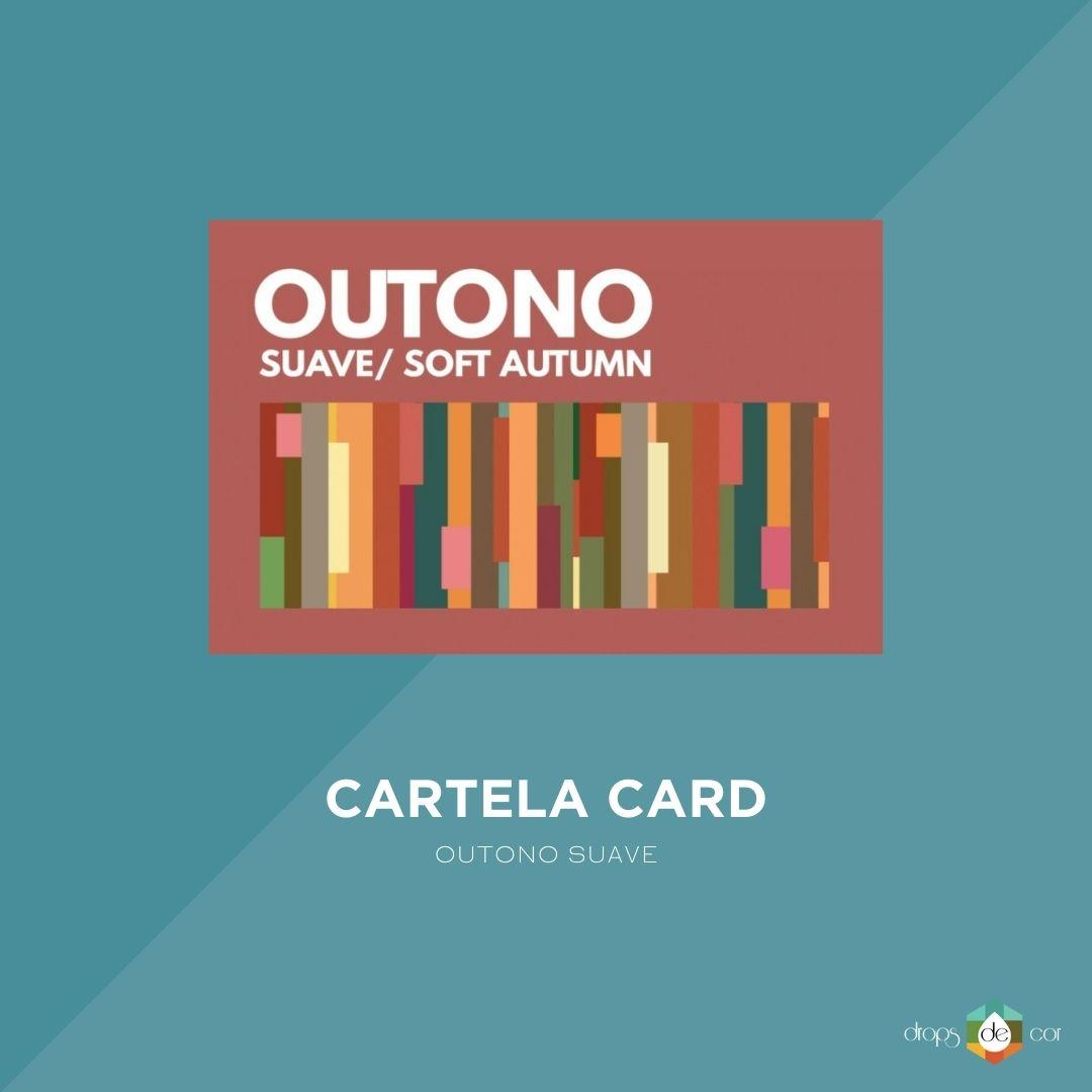 Cartela Card Outono Suave