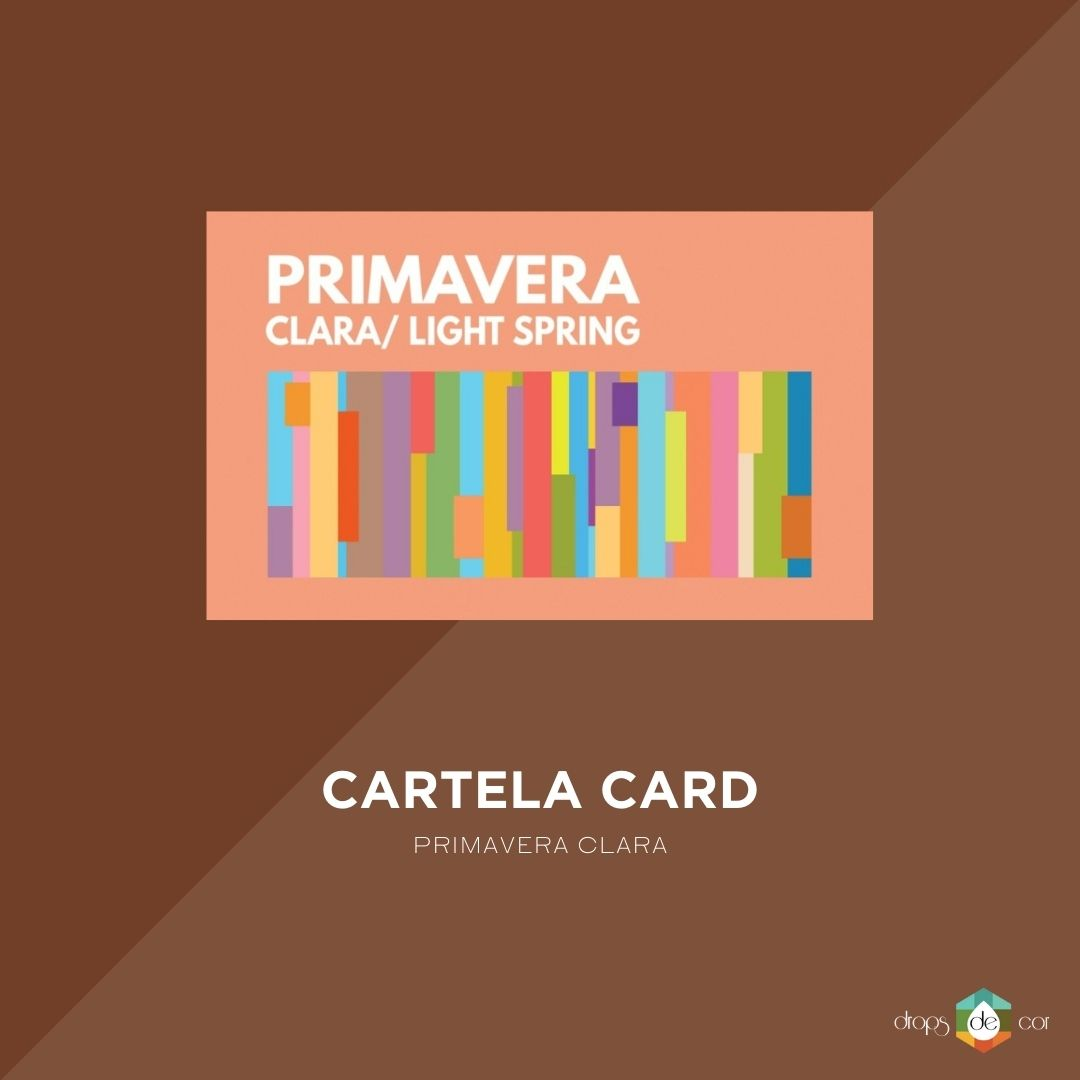 Cartela Card Primavera Clara