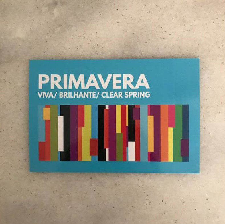 Cartela Card Primavera Viva