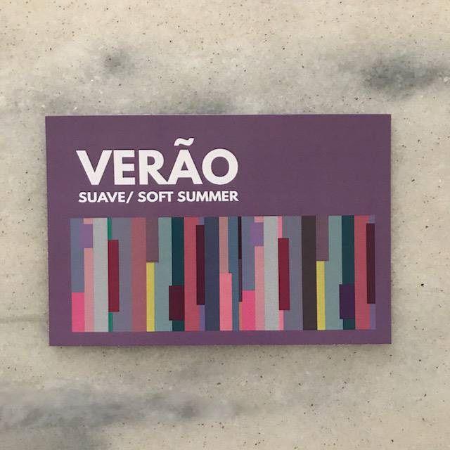 Cartela Card Verão Suave