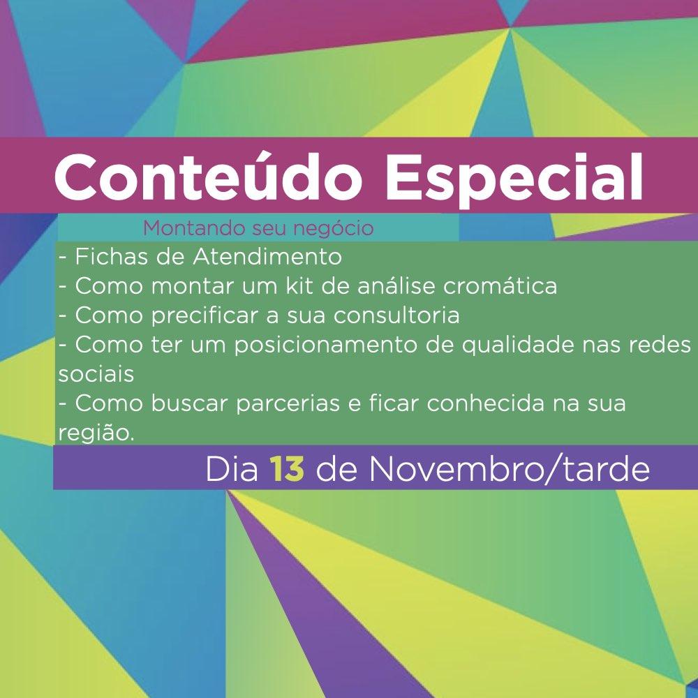 Curso de Formação em Análise Cromática - Método Drops de Cor - 13 e 14 Novembro