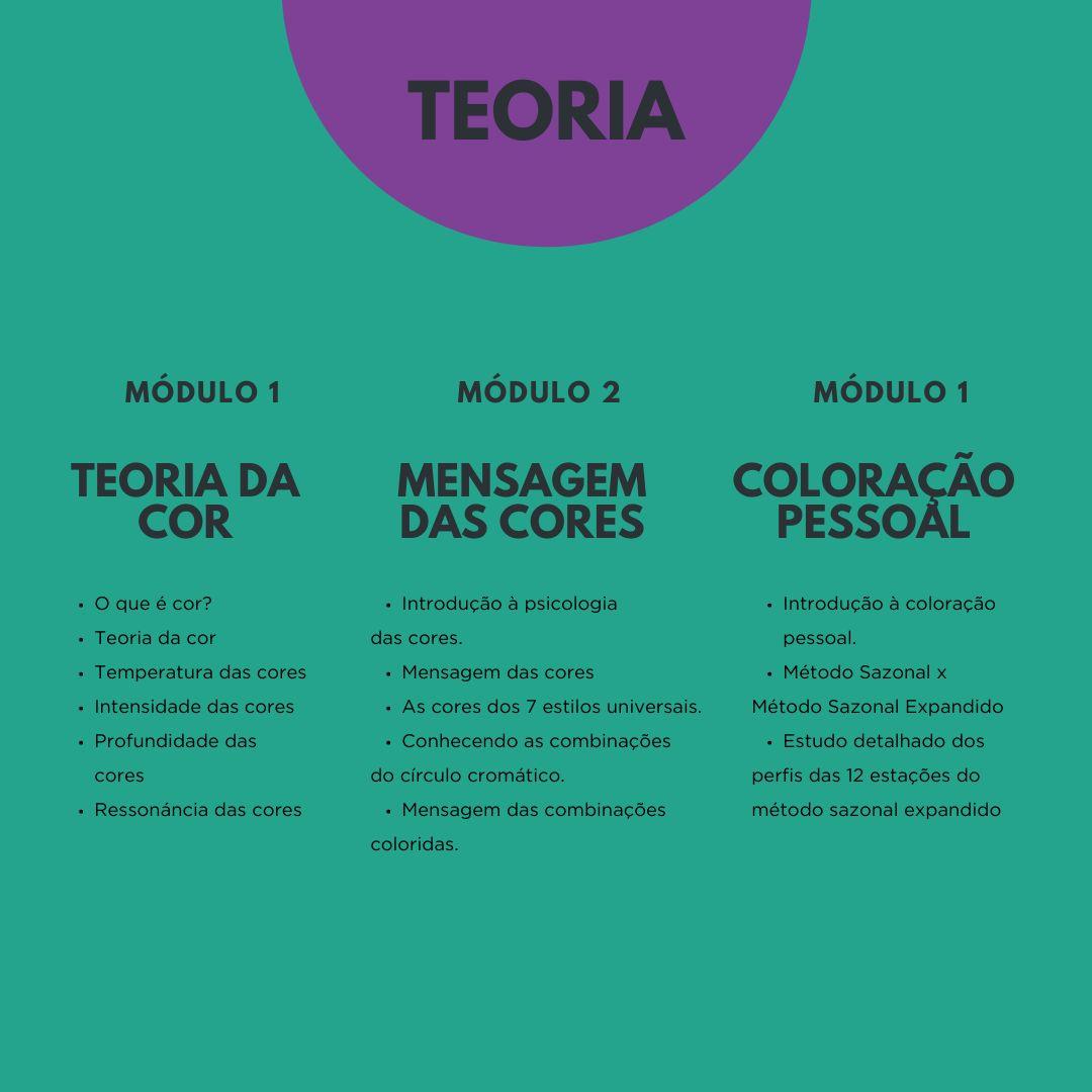 Curso de Formação em Coloração Pessoal - Porto Alegre