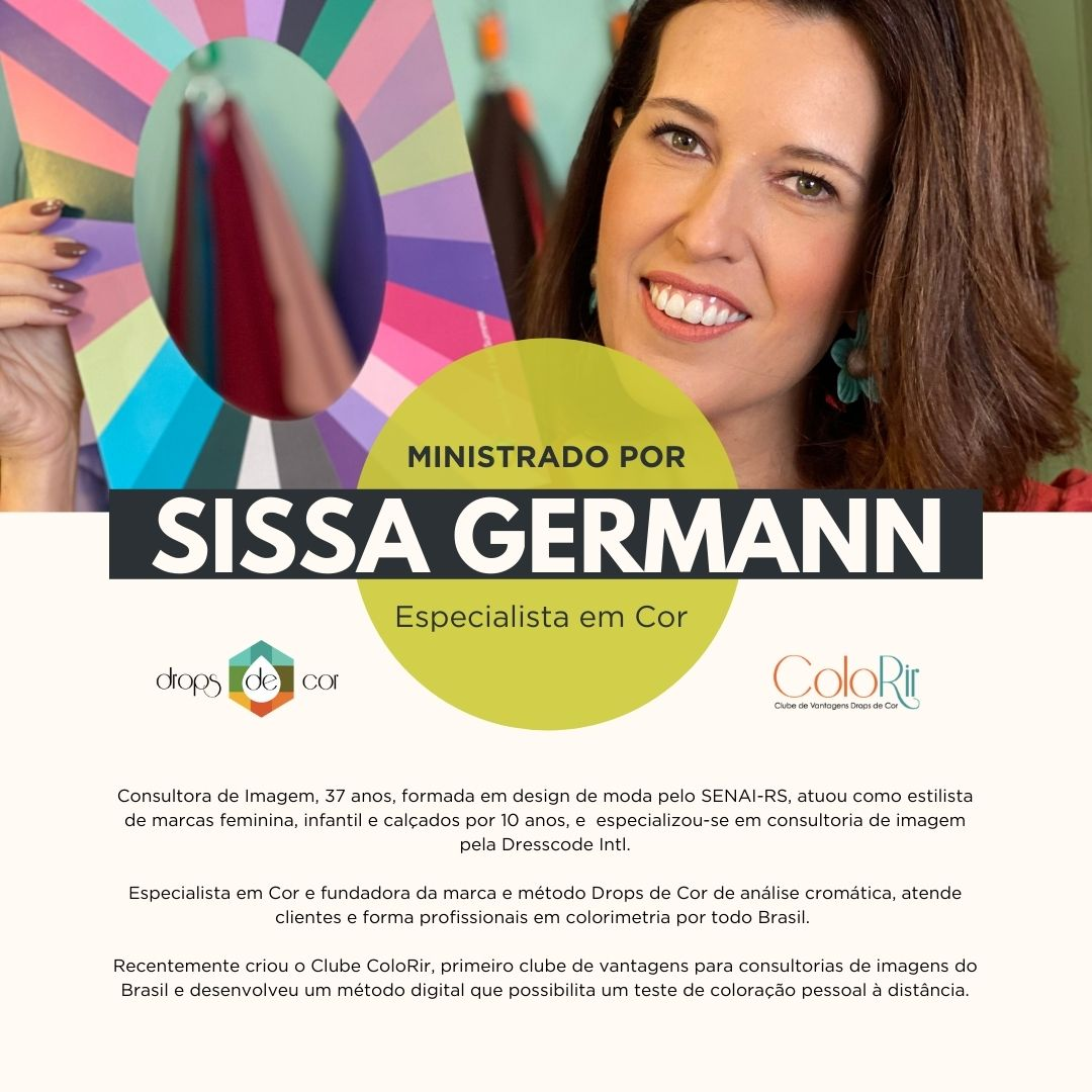 Curso de Formação em Coloração Pessoal - Rio de Janeiro