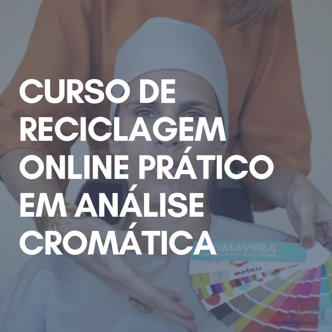 Curso de Reciclagem Online em Análise Cromática