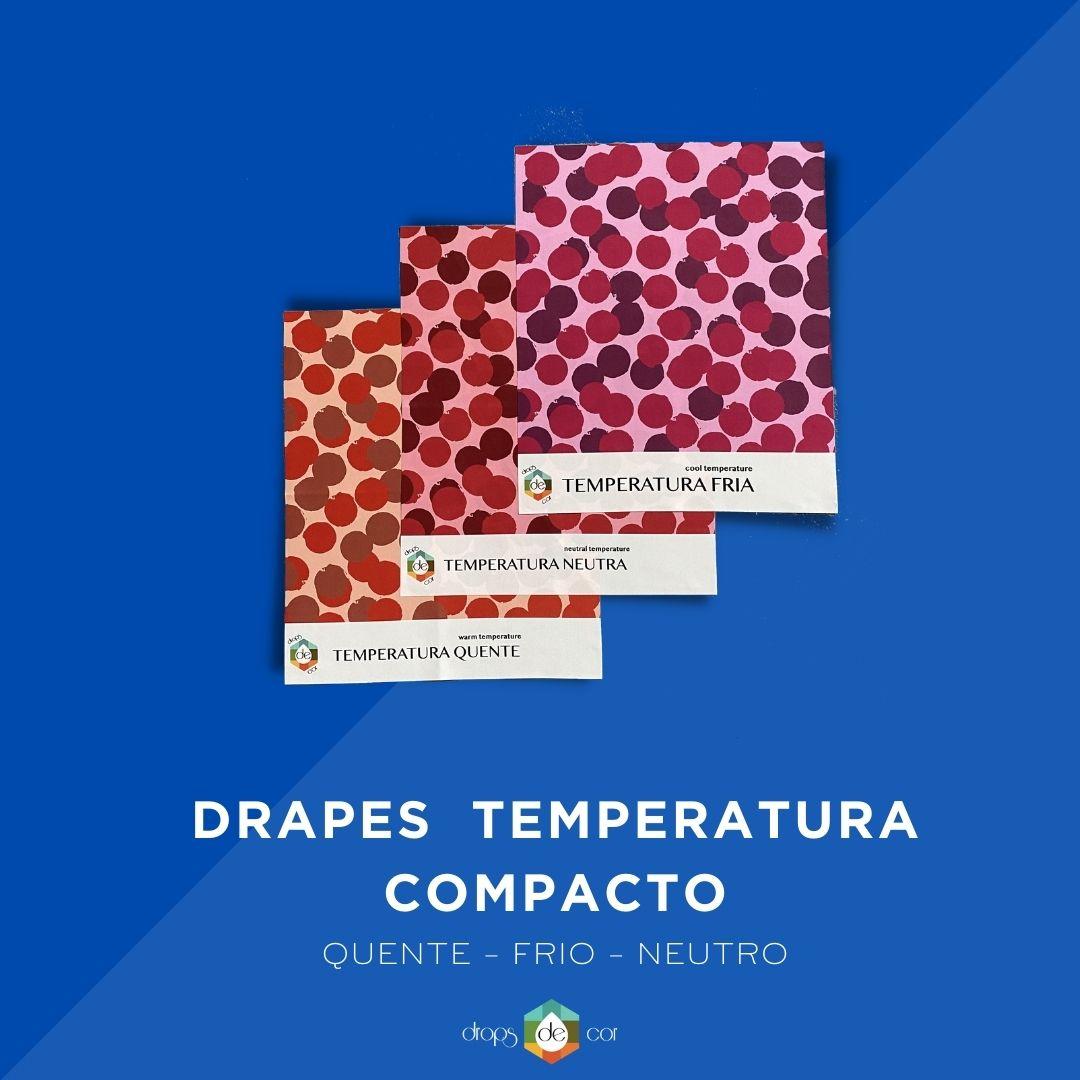Drapes Temperatura Estampado Compacto