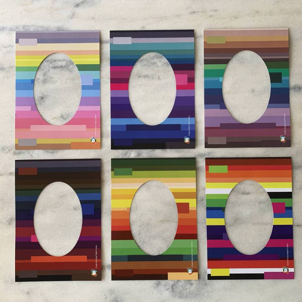 Kit Cartaz Dimensões Vazado