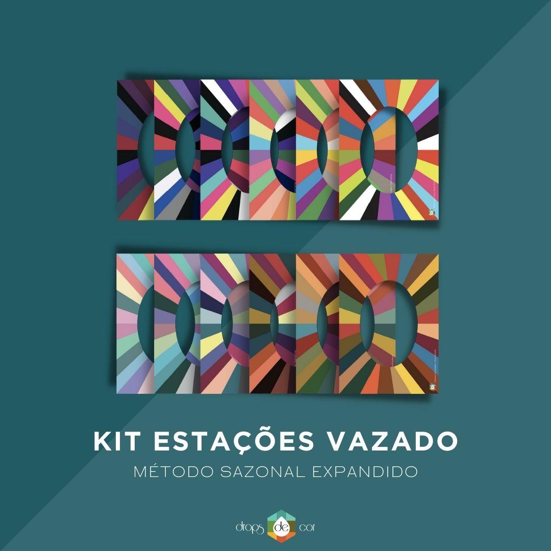 Kit Cartaz Estações Vazado