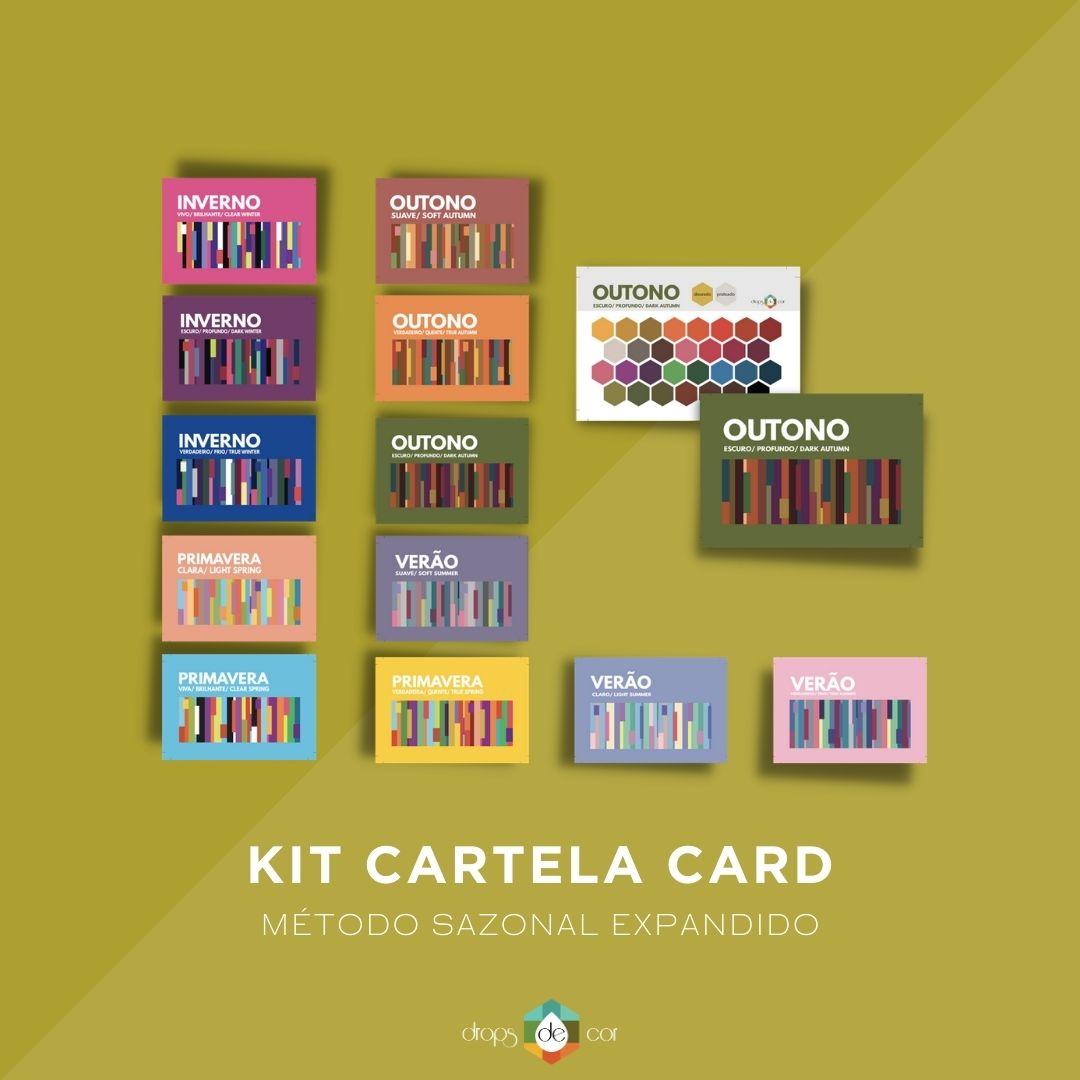 Kit Cartela Card
