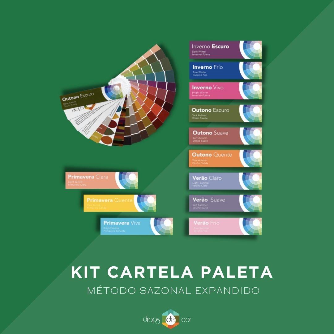 Kit Cartela Paleta