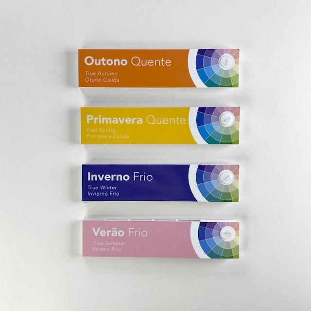 Kit Cartela Paleta Sazonal - 4 estações